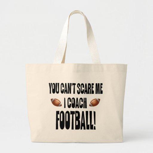 ¡Usted no puede asustarme… fútbol del coche de I! Bolsa De Mano