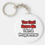 Usted no puede asustarme… programador llaveros