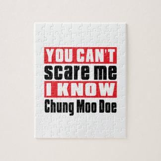 Usted no puede asustarme que sé la gama del MOO de Puzzle Con Fotos