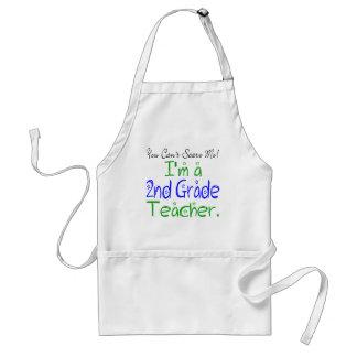 Usted no puede asustarme que soy 2do profesor del delantal