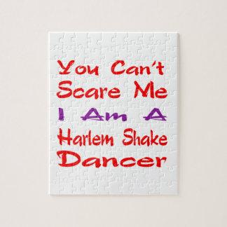 Usted no puede asustarme que soy bailarín de la puzzle