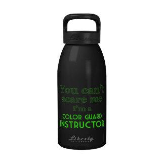 Usted no puede asustarme que soy instructor del gu botellas de agua reutilizables