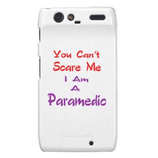 Usted no puede asustarme que soy Paramedic. Motorola Droid RAZR Carcasa