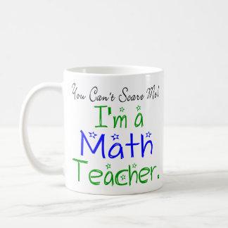 Usted no puede asustarme que soy profesor de taza clásica