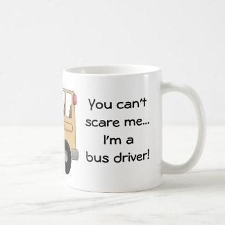¡Usted no puede asustarme… que soy un conductor de Tazas De Café