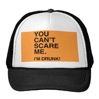 USTED NO PUEDE ASUSTARME yo es DRUNK png Gorra