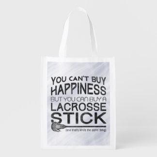 Usted no puede comprar felicidad, LaCrosse Bolsas Para La Compra