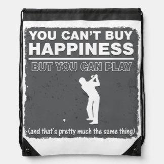 Usted no puede comprar golf del juego de la mochilas