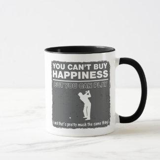 Usted no puede comprar golf del juego de la taza