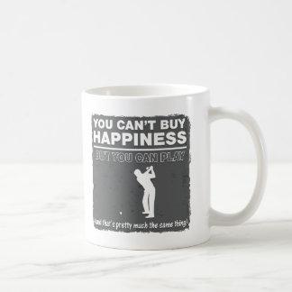 Usted no puede comprar golf del juego de la taza de café
