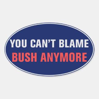 Usted no puede culpar al pegatina de Bush