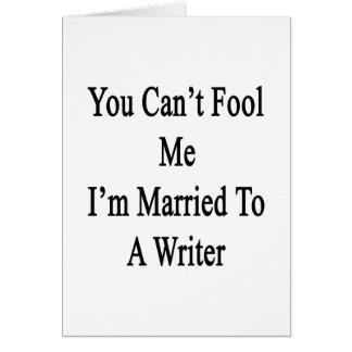 Usted no puede engañarme que estoy casado con un e