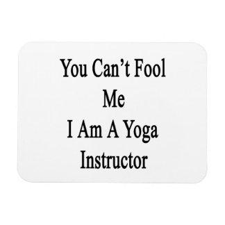 Usted no puede engañarme que soy instructor de la iman rectangular