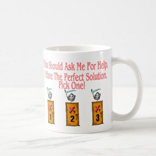 Usted no puede ganar taza de café