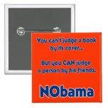 Usted no puede juzgar un libro por su cubierta… pin