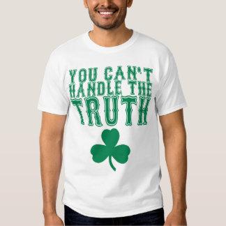Usted no puede manejar la camiseta de la verdad camisas