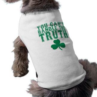 Usted no puede manejar la camiseta del perro de la playera sin mangas para perro