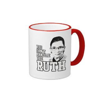 Usted no puede manejar la Ruth Taza A Dos Colores