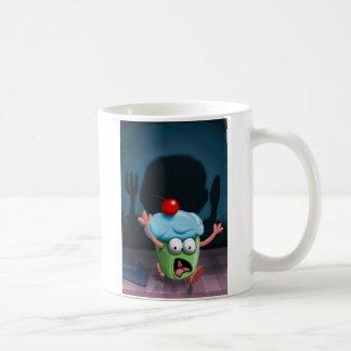 Usted no puede ocultar de la taza del hombre de