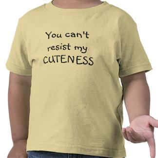 Usted no puede oponerse a la camiseta del niño