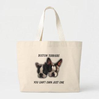 Usted no puede poseer apenas uno bolsa tela grande