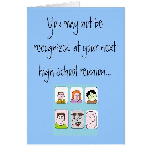 Usted no puede ser reconocido en su siguiente tarjeta de felicitación