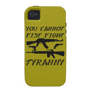 Usted no puede tiranía de la lucha del puño (las iPhone 4 fundas