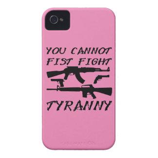 Usted no puede tiranía de la lucha del puño (las iPhone 4 Case-Mate carcasa