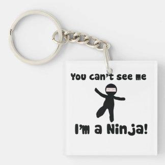 Usted no puede ver que yo es un Ninja Llaveros