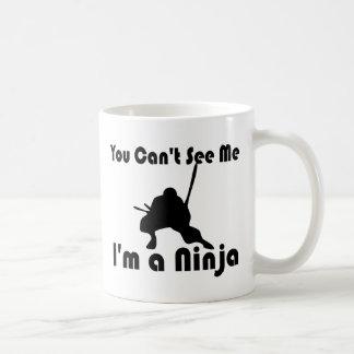 Usted no puede verme tazas de café