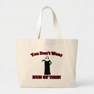 ¡Usted no quiere a la monja de esto Bolsas De Mano