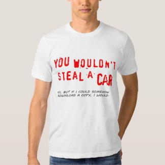 Usted no robaría un coche polera