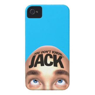 USTED NO SABE el caso del iPhone 4 de JACK Case-Mate iPhone 4 Fundas