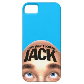 USTED NO SABE el caso del iPhone 5 de JACK iPhone 5 Fundas