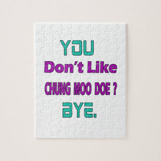 Usted no tiene gusto de la gama del MOO de Puzzle