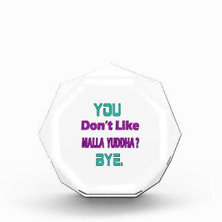 Usted no tiene gusto de Malla-Yuddha.