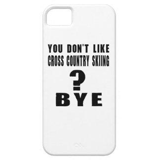 ¿Usted no tiene gusto del esquí del campo a iPhone 5 Carcasas