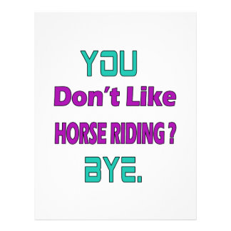 ¿Usted no tiene gusto del montar a caballo? Plantillas De Membrete