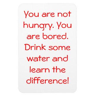 Usted no tiene hambre imanes flexibles
