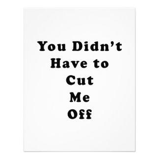 usted no tuvo que cortarme de negro del tonelero comunicados personales