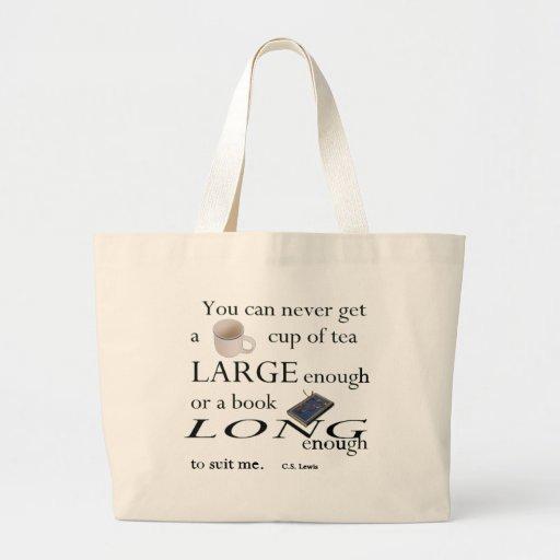 Usted nunca encontrará una taza de té bolsa tela grande