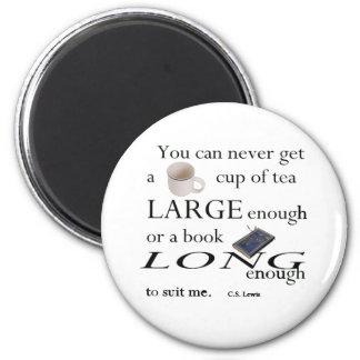 Usted nunca encontrará una taza de té imán de frigorifico