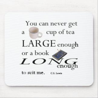 Usted nunca encontrará una taza de té alfombrillas de ratones