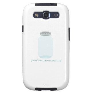 Usted O.N.U-Está conservando Galaxy S3 Fundas