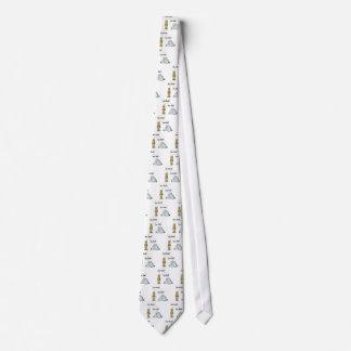 Usted oscila, usted gobierna corbatas personalizadas