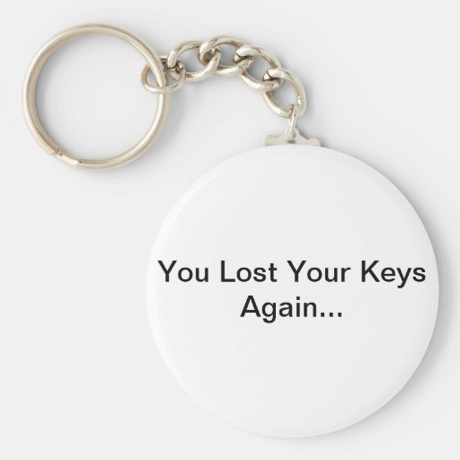 Usted perdió sus llaves otra vez… Llavero