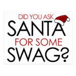Usted pidió Santa algún SWAG Postal