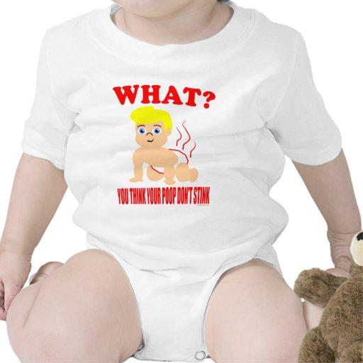 Usted piensa que su impulso no apesta trajes de bebé