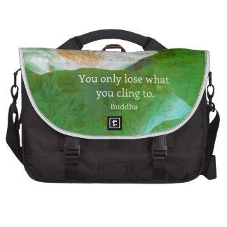 Usted pierde solamente lo que usted se aferra en bolsas para ordenador