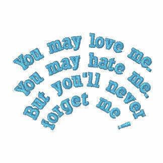 Usted puede amarme… camisa bordada… sudadera encapuchada